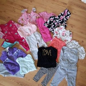 FLASH SALE.Huge lot of 12 month outfits.